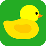 Duck pond idle icon